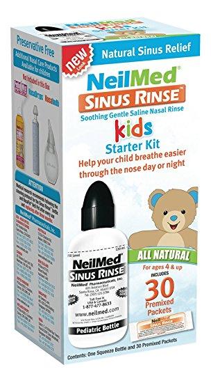 SinuRinse orr irrigátor gyermek szett 30 tasakkal (4-9 éveseknek)