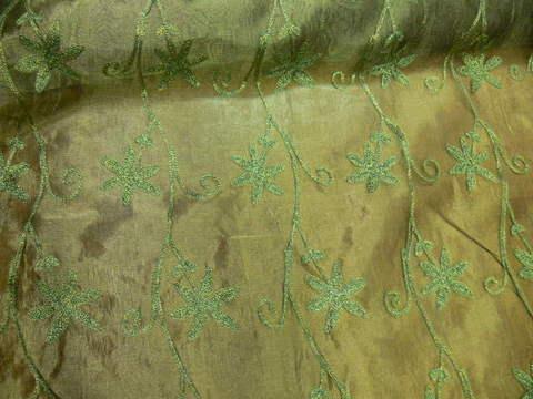KT-Ind.organza/zöld