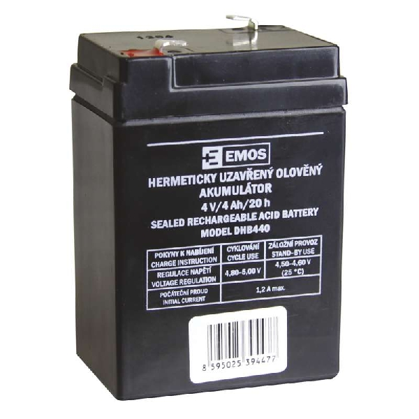 EMOS csere ólom-savas akkumulátor lámpáshoz P2306 (3810-3W típus).