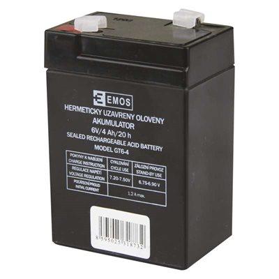 EMOS B9641 Akkumulátor 6v 4Ah