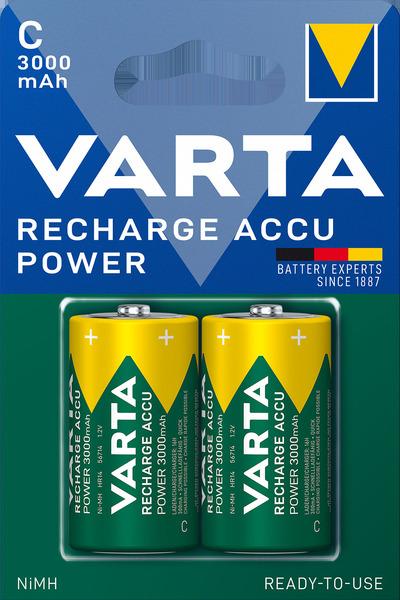Varta 56714101402 tölthető elem Power C 3000 mAh x 2 R2U