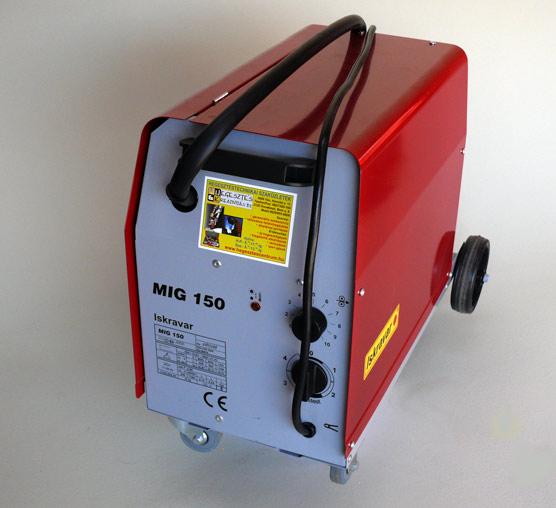 ISKRAVAR MIG 150A/220V védőgázas hegesztőgép