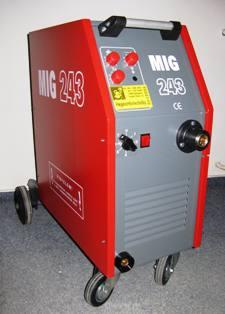 MIG 243A/380V védőgázas hegesztőgép