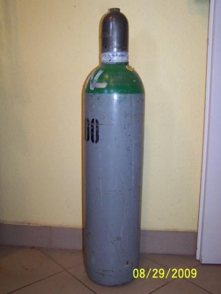 Argon palack T46 201 (4,5m3) közepes