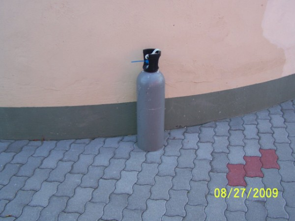 Szén-dioxid palack 10kg