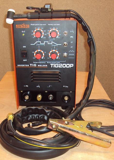 JASIC TIG 200P AWI DC Inveteres Hegesztőgép