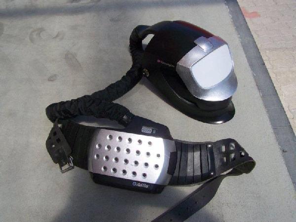 Speedglas® hegesztőpajzs Fresh-air C™ légzésvédelmi berendezéssel