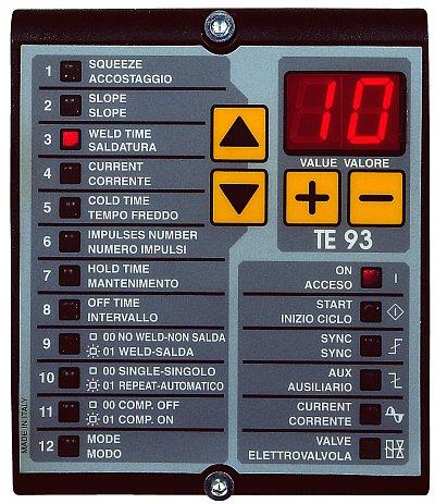 Processzor vezézlésű Tecna automaták