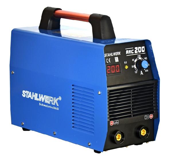 STAHLWERK ARC 200 MMA inverteres hegesztőgép