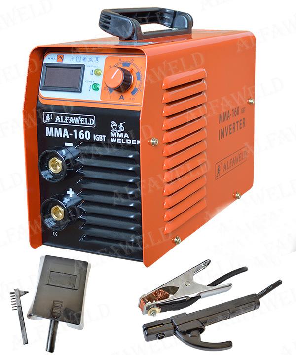 ALFAWELD MMA-160 160A/230V inverteres hegesztőgép
