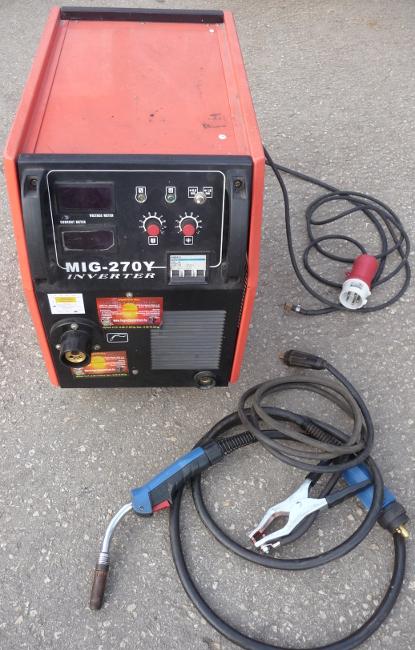 MIG 270Y inverteres CO hegesztőgép HASZNÁLT
