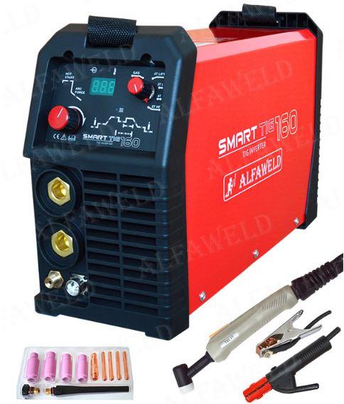 Alfaweld SmartTIG 160 digitális AWI DC hegesztőgép