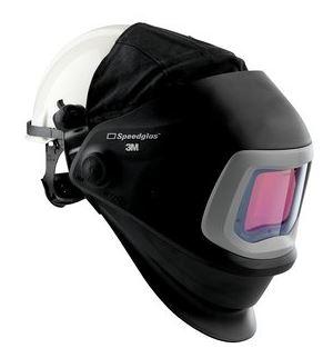 Speedglas 9100 FX hegesztőpajzs 9100V kazetta védősisakkal 543805