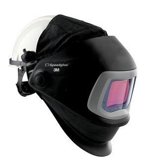 Speedglas 9100 FX hegesztőpajzs 9100X kazetta védősisakkal 543815