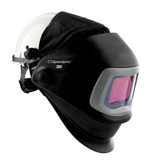Speedglas 9100 FX hegesztőpajzs 9100XX kazetta védősisakkal 543825
