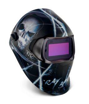 Speedglas XTERMINATOR hegesztőpajzs 100V hegesztőkazettával 752220