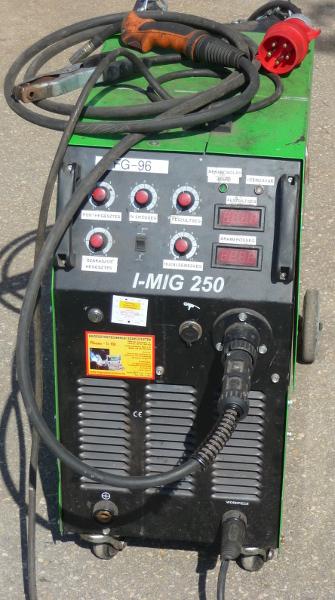 Astra IMIG 250 inverteres CO hegesztőgép HASZNÁLT