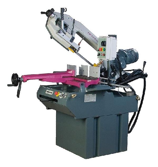 Szalagfűrészgép OPTIMUM S 300DG Vario (1,5kW, 20-90m/p, 2750x27x0,9mm, -60° - +45°)