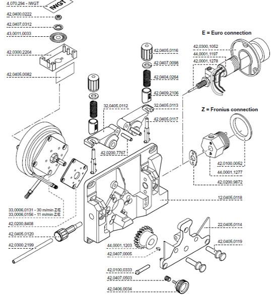 Leszorító szerkezet R.MPL.PBT 32,0405,0113