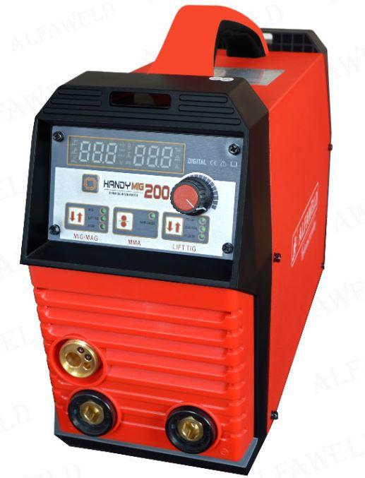 Alfaweld Handy MIG 200A/230V Synergic inverteres hegesztőgép