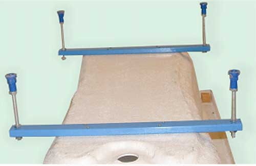 M-Acryl vízszintező láb sarok és normál kádhoz