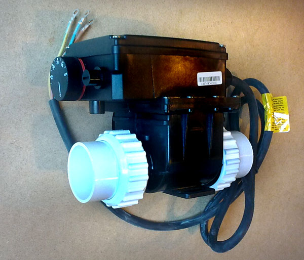 Elektromos hőcserélő (vízfűtés) 2000W