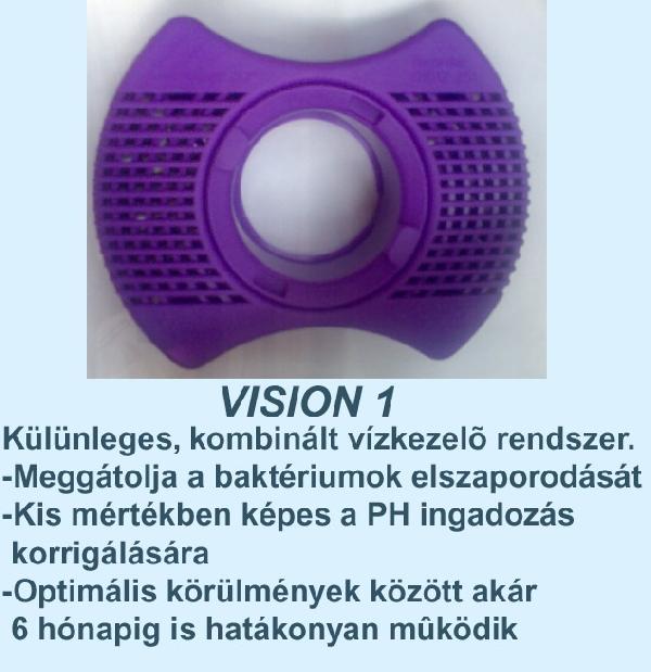Vision 1 SPA vegyszer, adagoló kosárral  6 hónapos időtartamra