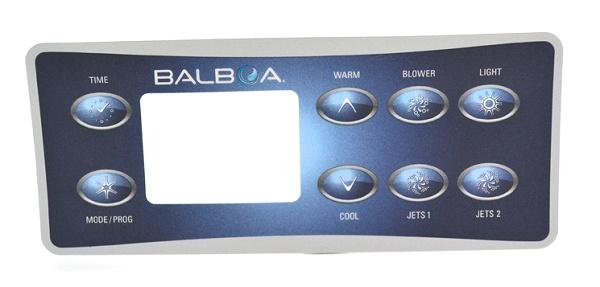 Balboa kezelőpanel 3M fólia 8 gombos