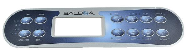 Balboa 10 gombos kezelőpanel felújító 3M fólia