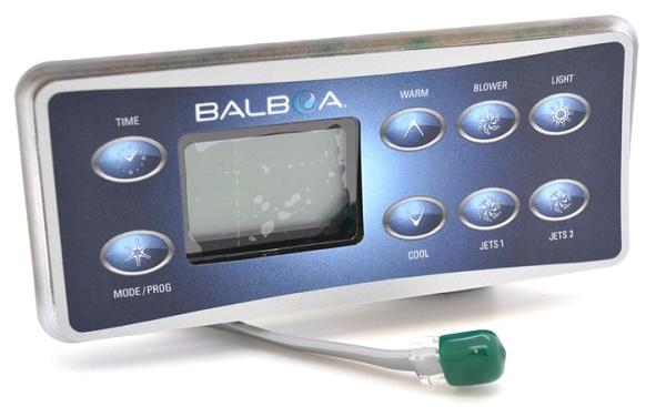Balboa 8 gombos kezelőpanel kábellel