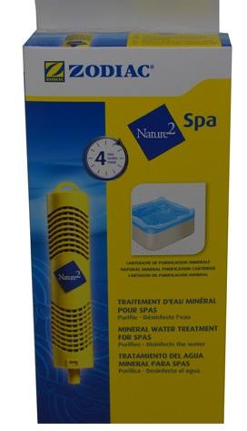 Klórcsökkentő  Nature2 Spa vízkezelő patron  (4 hónapra)