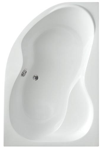 Fanny 170x105 cm aszimmetrikus sarokkád