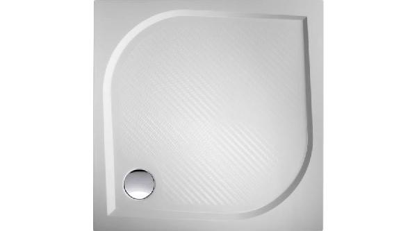 Cordo szögletes 90x90cm öntött polimer kerámia zuhanytálca