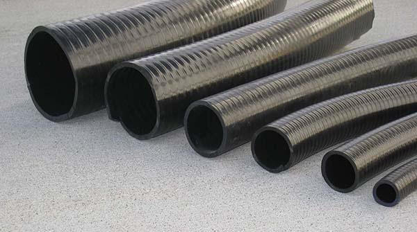 Flexibilis PVC cső , bordázott   külső átmérő : 50mm