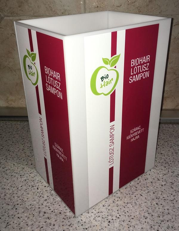 Plexi tároló doboz (egyedi gyártás)