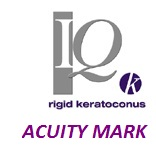Acuity K (Mark 4) keratoconusz RGP lencse (1db)