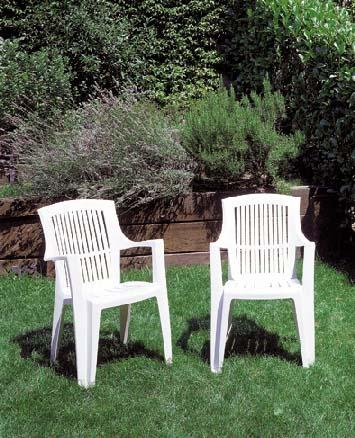 ARPA magas támlás fehér szék