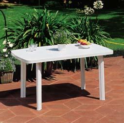 FARO fehér asztal 137x85cm