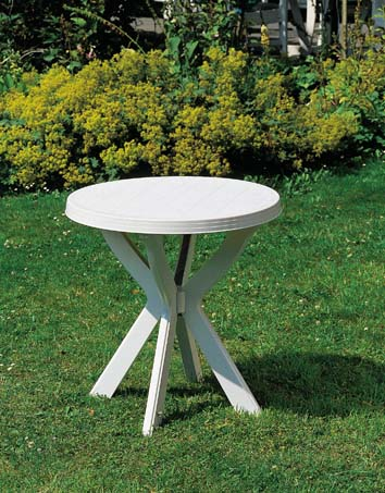 DON fehér asztal átm: 70cm