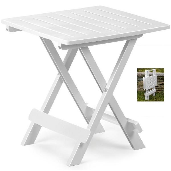 TAVOLO 75x75 cm egymásba rakható fehér asztal