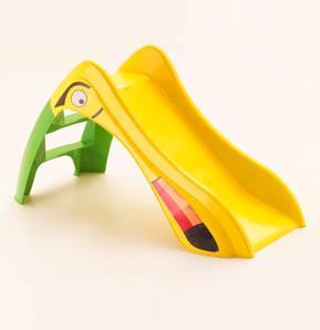TUKI csúszda zöld-sárga színben