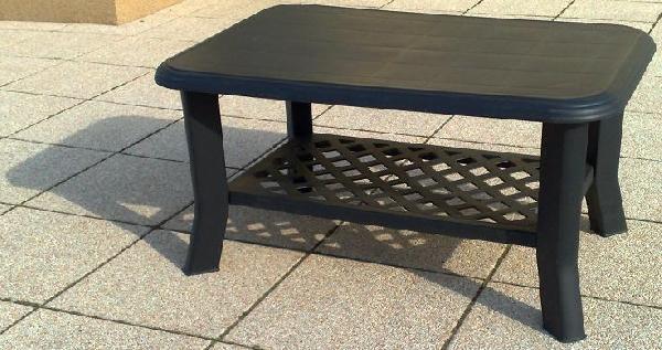 NISO sötét zöld színű alacsony asztal 90x60cm