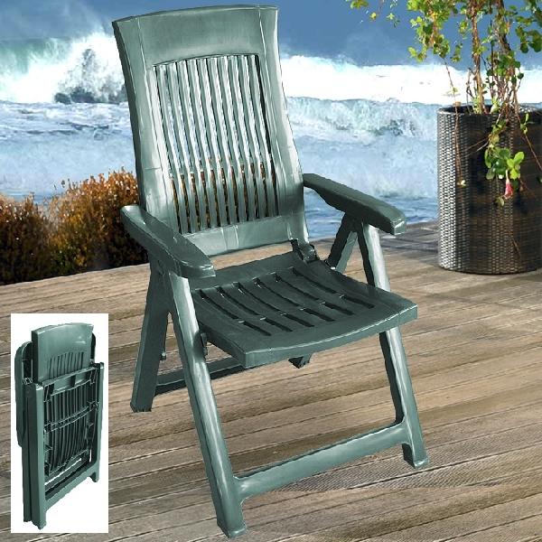 LOIRA zöld szék több pozícióban állítható támlával