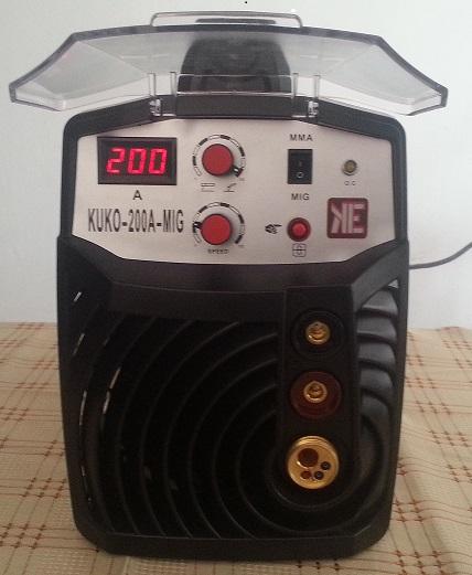 KUKO-200A-MIG inverteres ívhegesztőgép