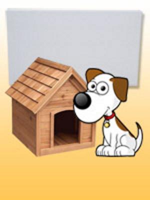 Kutyaház , padsorfűtés ( Fenix ECOSAN K+, 100W)