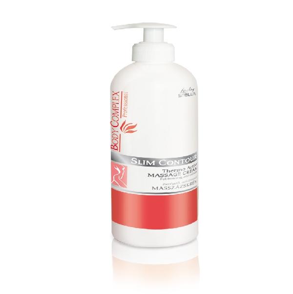 Body Complex Slim Contour Thermo Active zsírégető, cellulitkezelő masszázskrém.500 ml. ( Ezt a terméket csak kozmetikus éa masszőr szakembereknek forgalmazhatjuk)