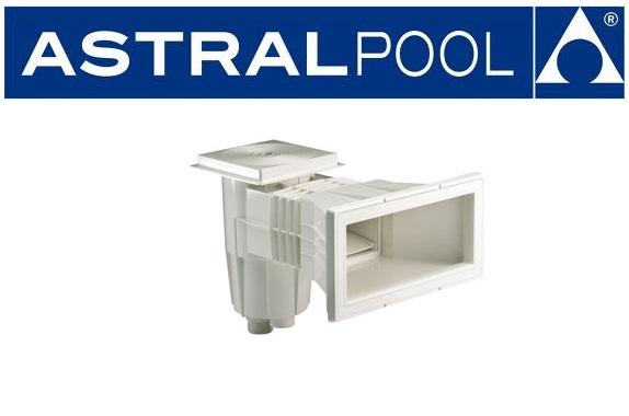 AstralPool Szkimmer trapéz alakú, széles szájnyilással betonos medencéhez  00252