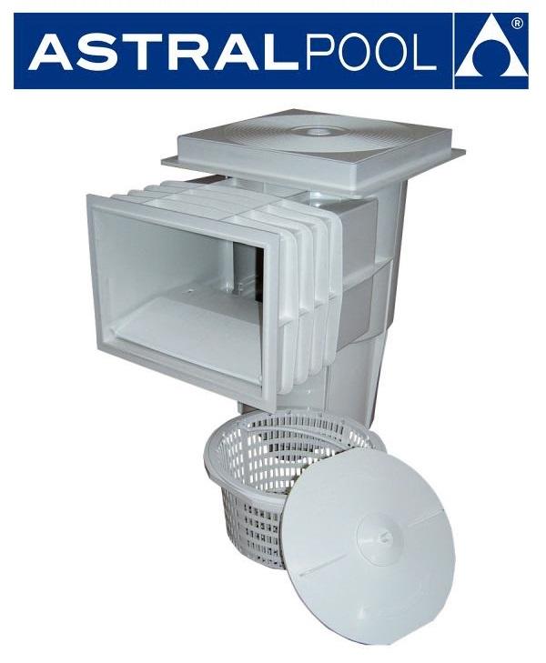 AstralPool Szkimmer standard szájnyilással betonos medencéhez 00250