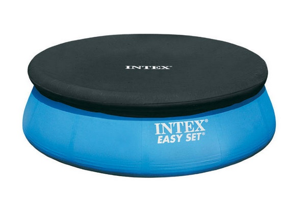 Intex puhafalú medence takaró 366cm átmérőre 28022