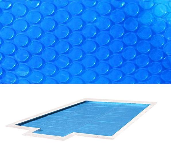 Blue 400 szolártakaró téglalap 4m x 8m medencéhez 400 mikron AS-172028